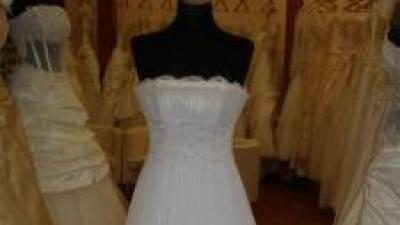 Piękna suknia - welon i buty gratis