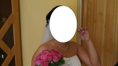 Piękna suknie ślubna