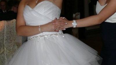 Piękna! Tania! Jedyna! Suknia ślubna