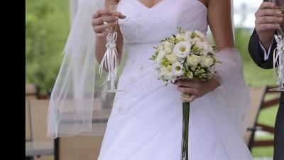 Piękna Wyjątkowa Suknia Ślubna Priscilla MS Moda