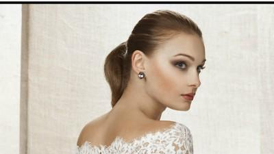 Piękne Koronkowe Bolerko NABLA do sukni ślubnej Francuska koronka