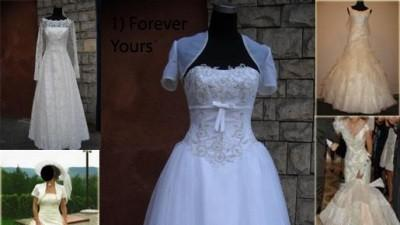 Piękne suknie dla drobnej roz.34