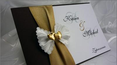 Piękne zaproszenia ślubne