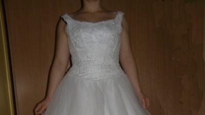 Pięknia suknia ślubna - buty gratis