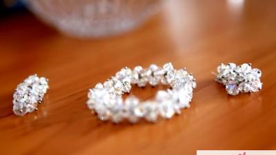 piękny komplet ślubny
