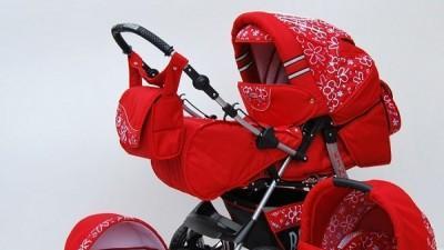 Piękny polski wózek