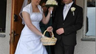 Pięna suknia ślubna! Dla wyjątkowej kobiety! :)