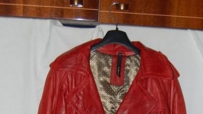 Płaszcz skórzany Auluna - piękny, modny, wygodny