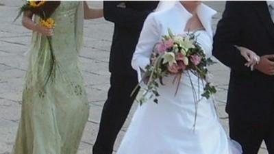 Polecam- suknia ślubna
