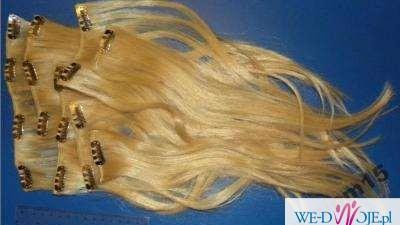 prawdziwe pasma blond naturalne