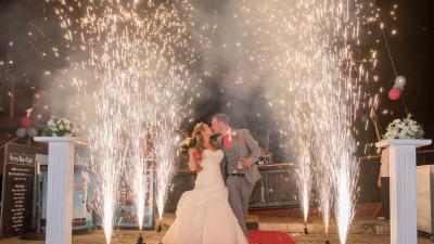 Profesjonalne Pokazy Fajerwerków na weselach