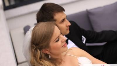 Pronovias Barima bolerko buty Menbur welon Madonna Gdynia pióra