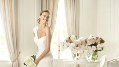 Pronovias fauna suknia ślubna okazja Madonna