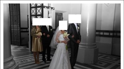 Prosta, ale przepiękna suknia ślubna