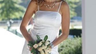 Prosta biała sukienka 40 nowa