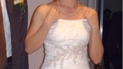 Przepiekan suknia slubna Dexa