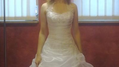 Przepiękna, balowa suknia ślubna na sprzedaż