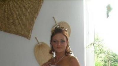 Przepiękna biała suknia ślubna