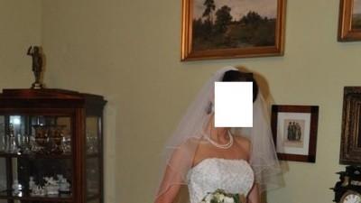 Przepiękna biała suknia ślubna +bolerko rozm. 36/38
