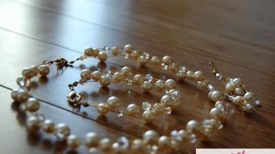 Przepiękna biżuteria ślubna