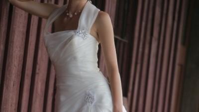 Przepiekna, delikatna suknia ślubna...