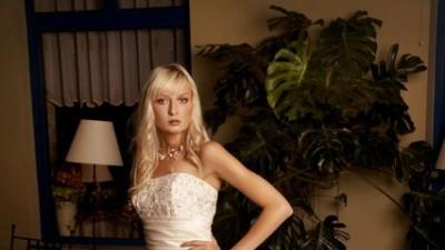 Przepiękna, elegancka suknia ślubna Annais Angela, kolor ecru/ivory roz. 36