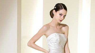 Przepiękna hiszpańska suknia ślubna ATELIER DIAGONAL 5031