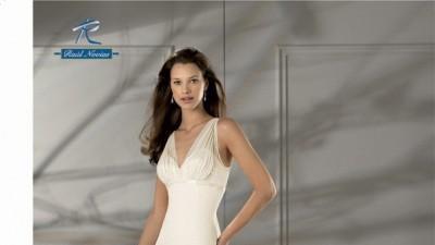 Przepiękna hiszpańska suknia ślubna z kolekcji Raul Novias 2008