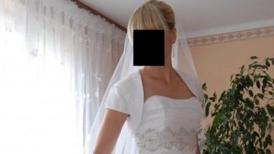 Przepiękna i elegancka suknia ślubna Agnes