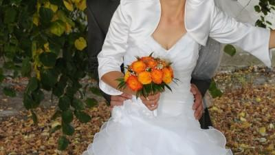 Przepiękna i Nowiusieńka Suknia Ślubna za jedyne 500 zł!