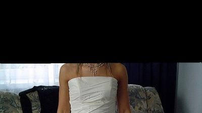 Przepiękna JEDYNA  taka  suknia  - 600 zł