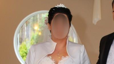 Przepiękna koronkowa suknia Ślubna 44-48 - wyszczuplająca