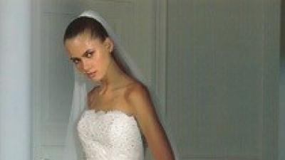 Przepiękna koronkowa suknia ślubna Pronovias Halifax