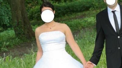 Przepiękna princesska, suknia ślubna  Sincerity 3159