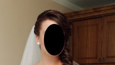 Przepiękna Satynowa Suknia Ślubna