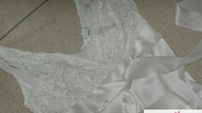 Przepiękna suknia 100% jedwab 38 36 Maciej Zień 25 % ceny!!!