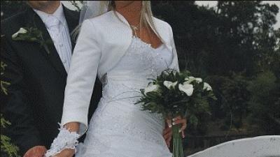 Przepiękna suknia