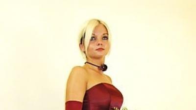 Przepiękna suknia balowa
