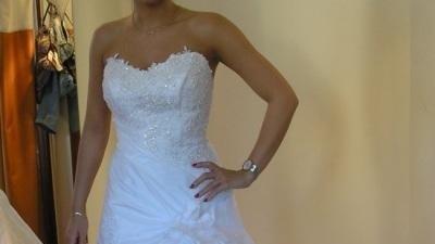 Przepiękna suknia farage