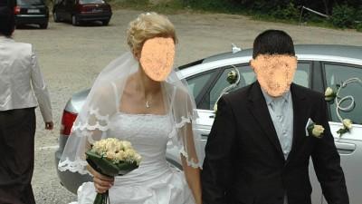 Przepiękna suknia firmy Sincerity Bridal