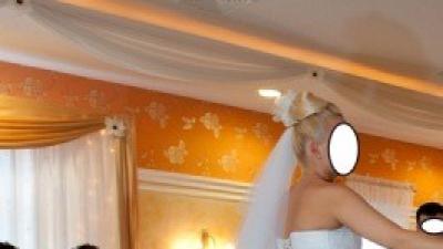 Przepiękna suknia ślubna 2 w 1 + gratisy