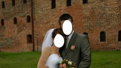 Przepiękna suknia ślubna, 36-38, Kolekcja 2009