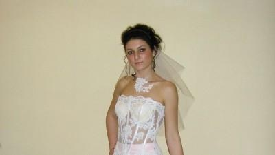 przepiekna suknia slubna