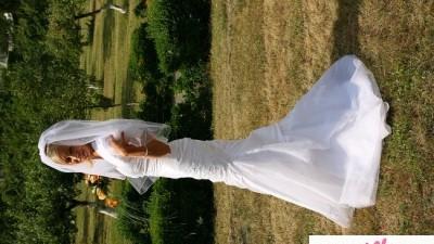 Przepiękna suknia ślubna Aspera 4238