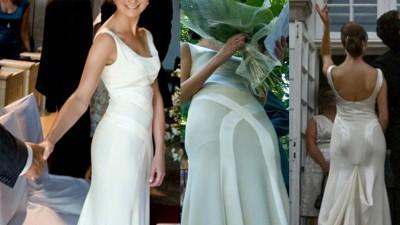 Przepiękna suknia ślubna Cymbeline
