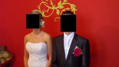 Przepiękna suknia ślubna + dodatki
