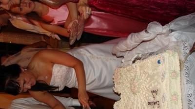 Przepiękna suknia ślubna ecru!!!