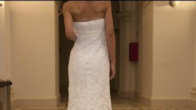 Przepiękna suknia ślubna Famosa (odpowiednik Silaba Pronovias)