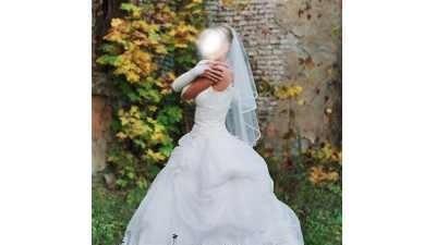Przepiękna suknia ślubna firmy Agora .
