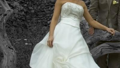 Przepiękna suknia ślubna firmy Sposabella rozm. 38 (168 cm).